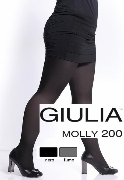 Dámské punčochy  Dámské bavlněné punčochy MOLLY GIULIA 200 den 00d01c909b