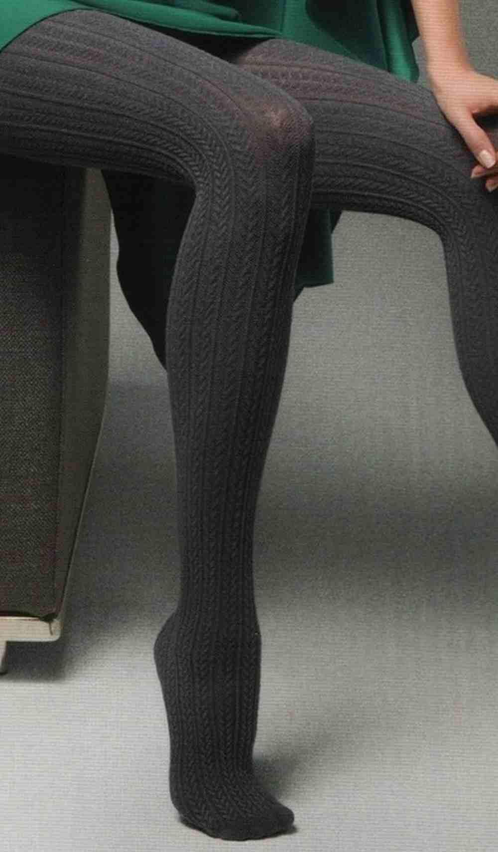 Klasika  Dámské pletené punčochy Celine Veneziana 150 den 490da2f966