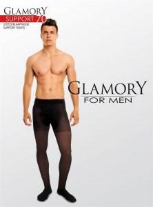 Pánské zdravotní punčochy SUPPORT 70 Glamory for men s podpůrným efektem ea002e186b
